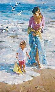 Precious Moments - Michael and Inessa Garmash - World-Wide-Art.com - $1200.00 #Garmash