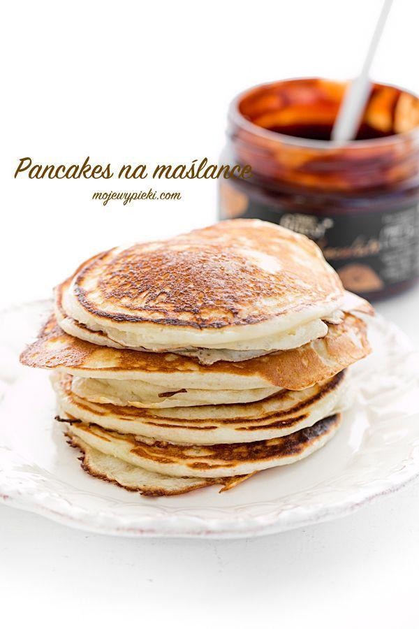 Amerykańskie pancakes na maślance