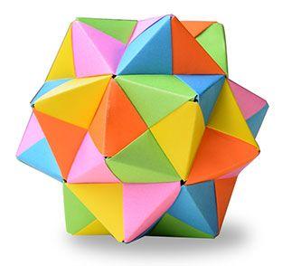 origami kusudama simple