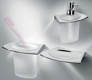 luxury bathroom accessories are in the latest styles included are toothbrush holders toilet roll holders soap dishes
