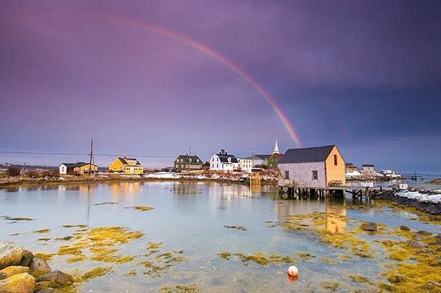 At the end of every rainbow - a hidden gem. 📷: @acorn_art_photography #VisitNovaScotia #ExploreCanada #Prospect #NovaScotia