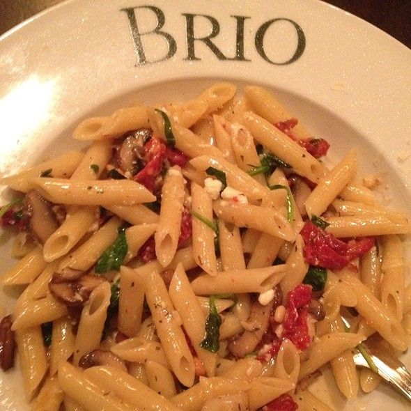 Italian Chain Restaurant Recipes: Brio Penne Mediterranean