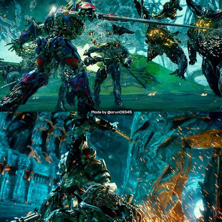 Jyst evil Optimus and Megatron killing people