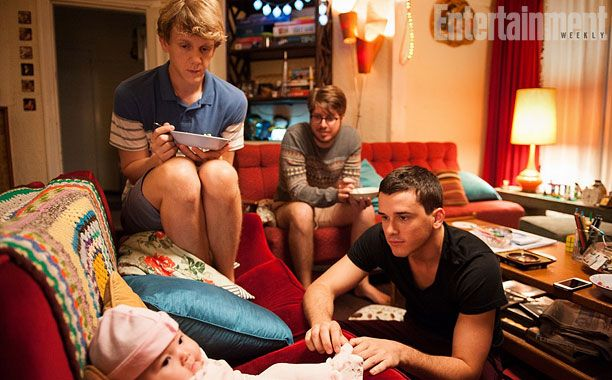 Video: It's three men, a baby, and talk of magical sperm in new 'Please Like Me' clip — Exclusive | EW.com
