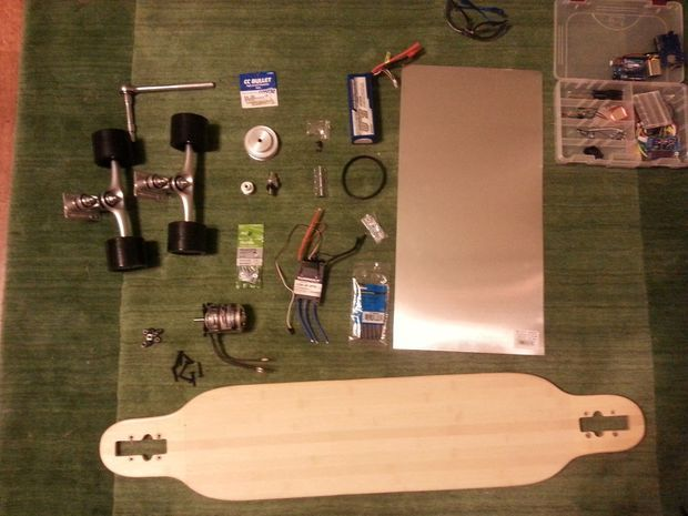 DIY Electric Long Board
