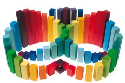 Grimm's Spiel & Holz blocks.