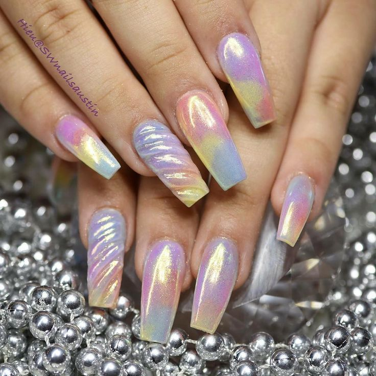 37 best Metallic nails images on Pinterest | Metallic nails, Nail ...