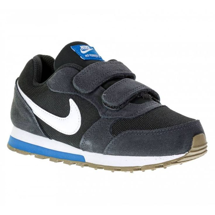 Boy nike md runner 2(ps) pre 007 gris oscuro