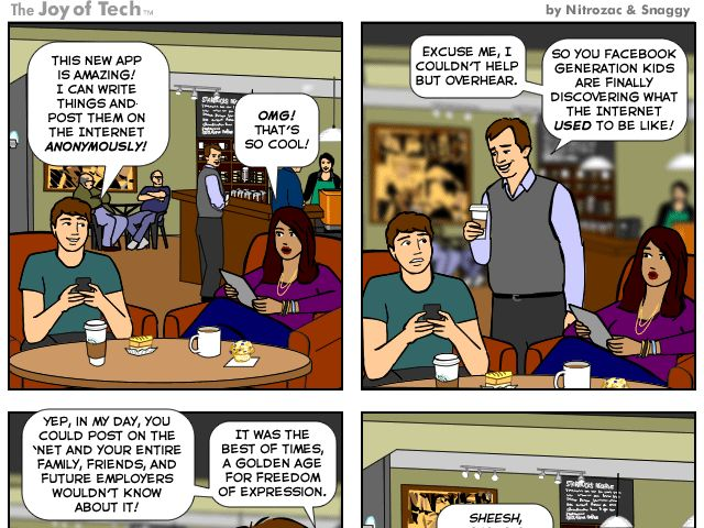 Online Privacy Comic