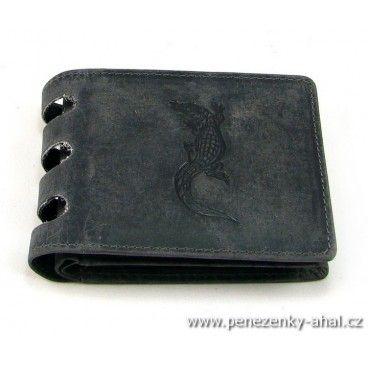 Velká peněženka pánská kožená je vyrobená z masivní kůže. Do této velké peněženky se vejde opravdu vše.