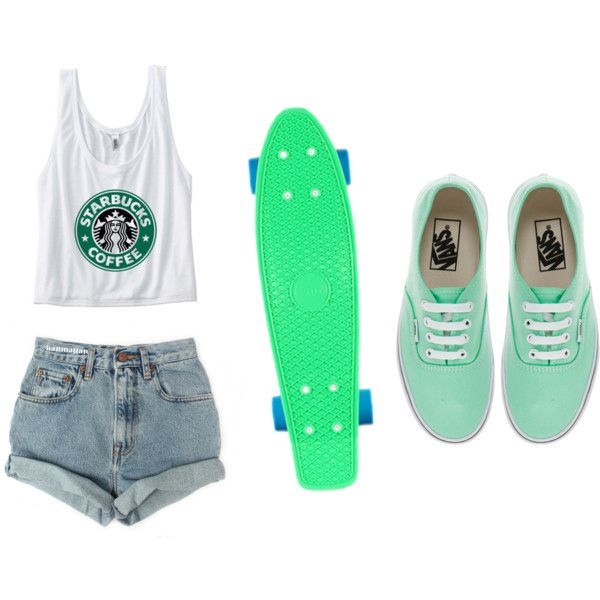 Penny board outfit - Polyvore