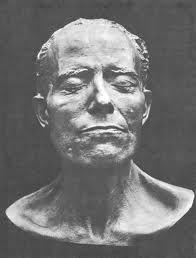 Gustav Mahler death mask