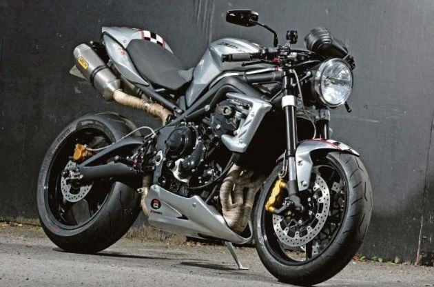 A Cool Model of Ace 675CR is a Street Triple R is ready for ridding