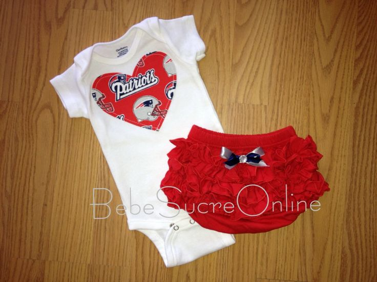 New+England+Patriots+Girls+Outfit+by+BebeSucreOnline+on+Etsy,+$30.00