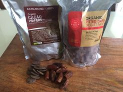 Cahnging Habits Raw cacao and Dates
