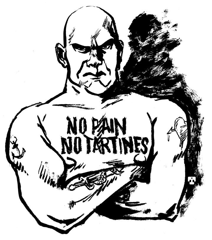 No Pain No Tartines ! Tanxxx