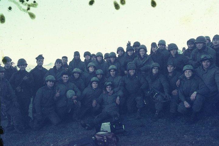 Banda de Hermanos - Gloriosa Batería B del GADA 101 en misa de campaña