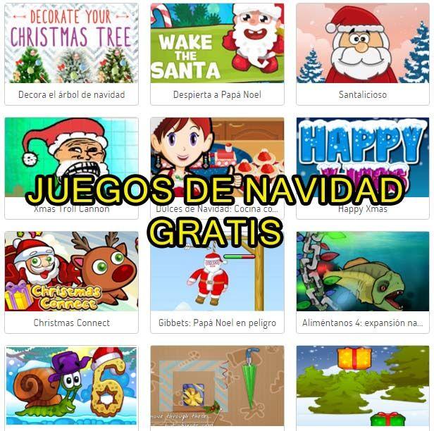 JUEGOS NAVIDEÑOS ONLINE: Cientos de juegos gratis ~ Juegos gratis y Software Educativo