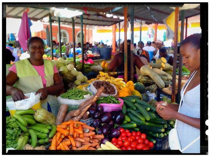 Klasické tržiště s čerstvým ovocem. #KapverdskeOstrovy