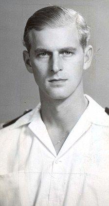 Prince Philip in 1947 when he was Lieutenant Philip Mountbatten.