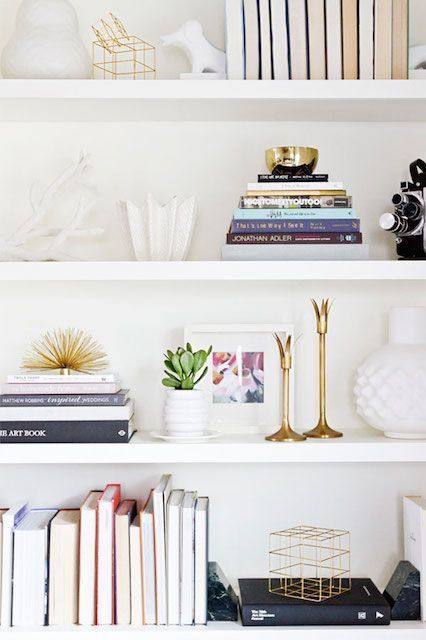 Yes You Can Make Your Home Look Like Pinterest Board Styling Bookshelvesbookcasesarranging