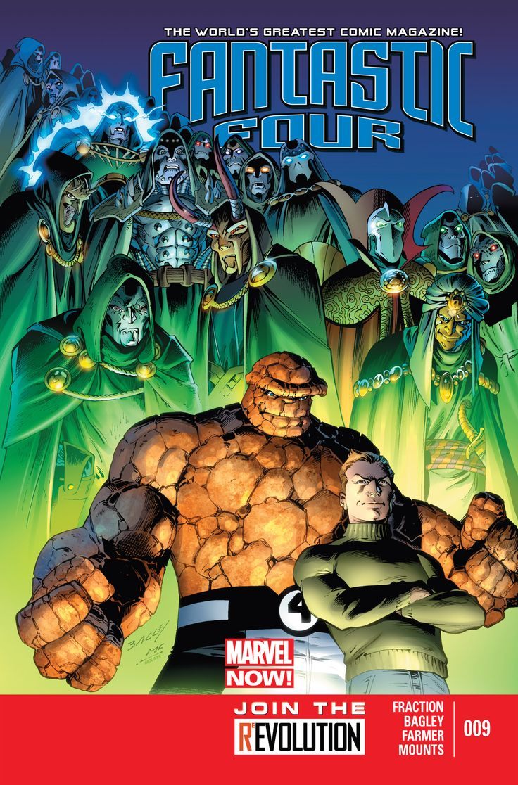Fantastic Four (2013) Issue #9 - Read Fantastic Four (2013) Issue #9 comic online in high quality