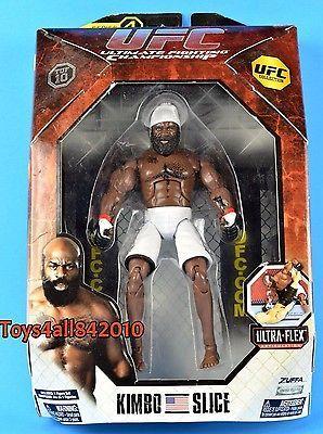 Kimbo Slice UFC JAKKS ACTION FIGURE MOC DELUXE PRIDE MMA Fighter- bx5