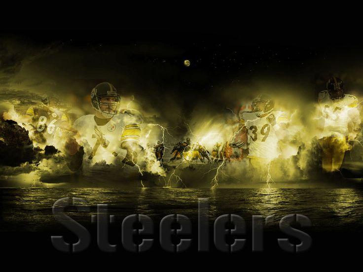 1 of my favorite football teams ... The Pittsburgh Steelers aka The Steel Curtain aka The Terrible Towels :)