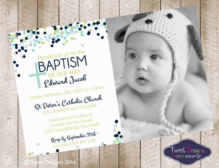 Baptism Invitations For Boys | ctsfashion.com