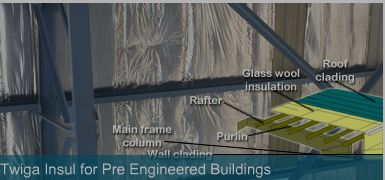 When talk about Acoustic insulation India, firstly comes a name Twiga fiber company, which located in Delhi, India.