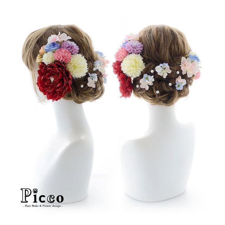 Gallery 412 . Order Made Works Original Hair Accessory for SEIJIN-SHIKI . ⭐️成人式髪飾り⭐️ . 気品あるベージュゴールドの振袖にあわせて、鮮やかな赤の牡丹が目をひく、凛とした雰囲気の和スタイルに仕上げました✨ 優しく女性的なパステルカラーのマムとローズで盛り付けて、バックはパールと小花でさりげなくアレンジ . . #Picco #オーダーメイド #髪飾り #振袖 #成人式 . . #牡丹 #和 #大人可愛い #凛とした #成人式ヘア . デザイナー @mkmk1109  . . #ヘアアクセサリー #ヘッドアクセサリー #ヘッドドレス #花飾り #造花 #和装 #袴 #着物 #成人式フォト #成人式前撮り #flower #follow #hair #hairstyle #kimono #YOLO #accessorize #rose #japanese