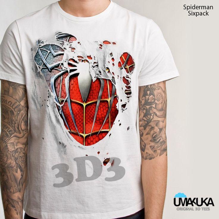 Kode: Spiderman body - bahan cotton combed 24s - sablon DTG (sablon masuk ke serat kain) - Pilihan warna: bisa semua warna kaos - preorder - Tersedia ukuran baby, kids, male, female - Tersedia untuk lengan panjang, lengan raglan, lengan pendek . Pemesanan hubungi: - SMS/ WA: 08990303646 - BBM: D3BCEDC3