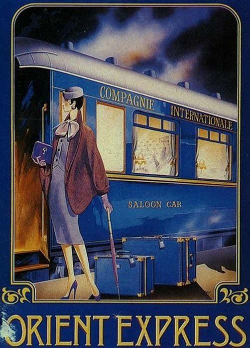 z- Original 'Orient-Express', 1930s (Compagnie Internationale des Wagons-Lits- ended 2009)