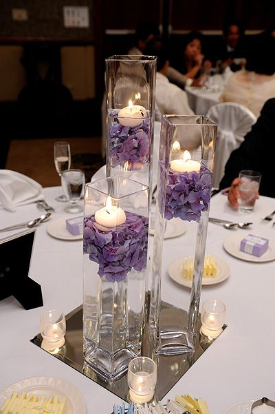 Submerged arrangements like this can be stunning and cost effective.