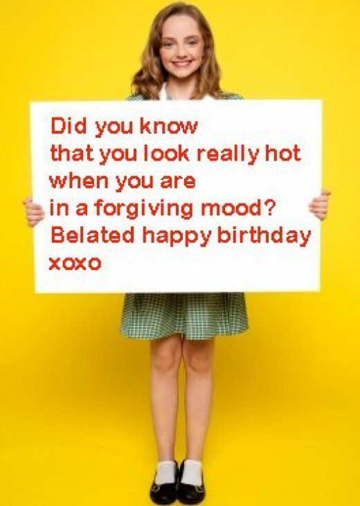 Who says belated birthday wishes need to be boring? Add humor into yours!