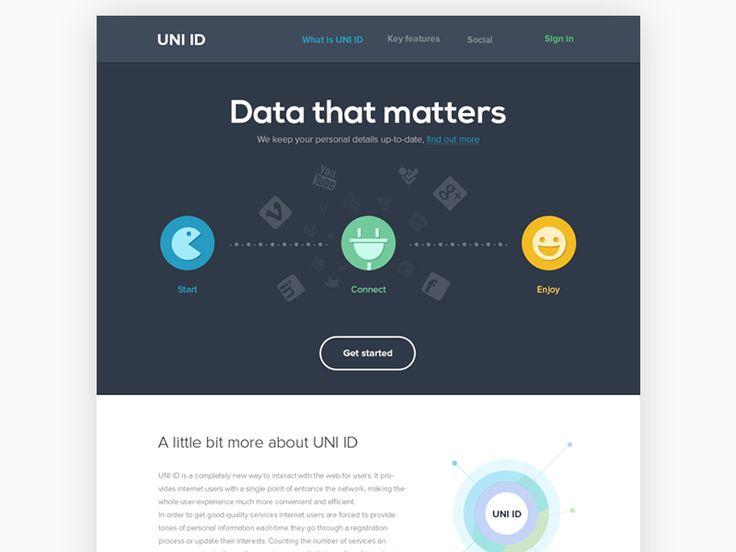 28 best web design images on Pinterest   Design web, User interface ...
