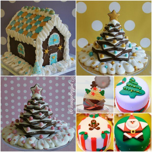 Ginger House & Trees and Miniature Cakes!