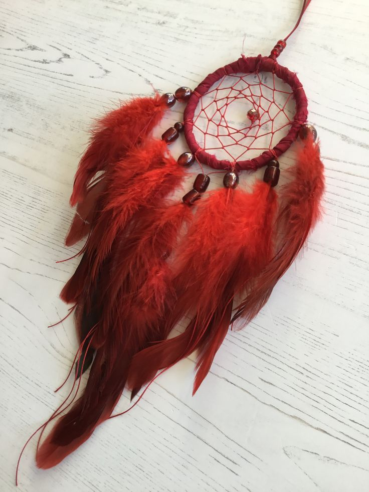 Small Red Dreamcatcher ❤️