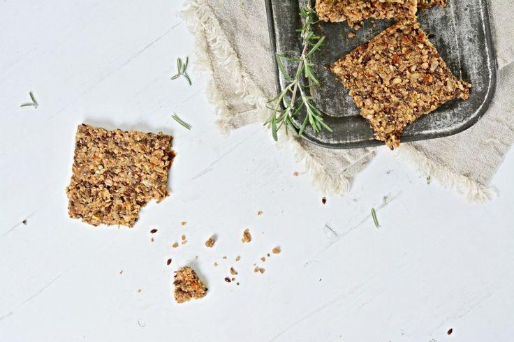 Kitchen story | Česnekové krekry | http://www.kitchenstory.cz