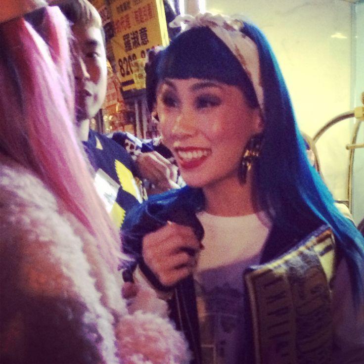 Super cool DJ Mademoiselle Yulia at the Joyrich Hong Kong store opening ...
