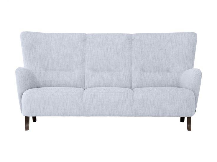 ROZY 3-personers sofa Lyseblå i gruppen Indendørs / Sofaer / 2-4 personers sofaer hos Furniturebox (100-39-88221)