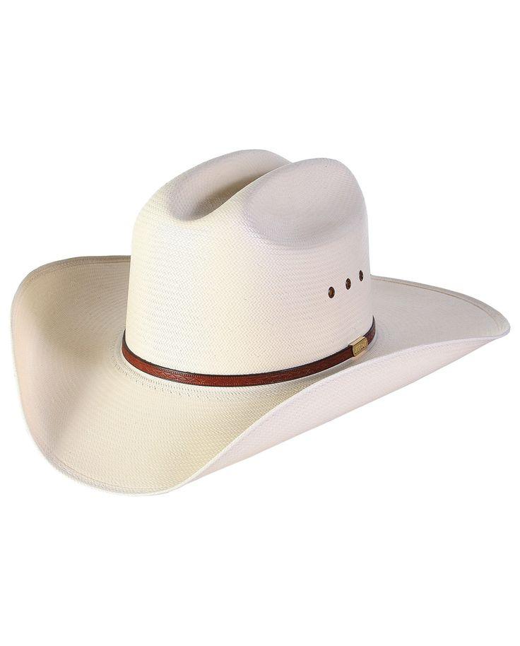 Stetson® Maddock Straw Hat::Straw::Men's::Cowboy Hats::Fort Western Online
