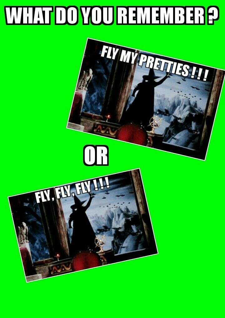 I remember fly my pretties what do you guys remember?