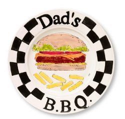 Father's Day BBQ Plate | FaveCrafts.com