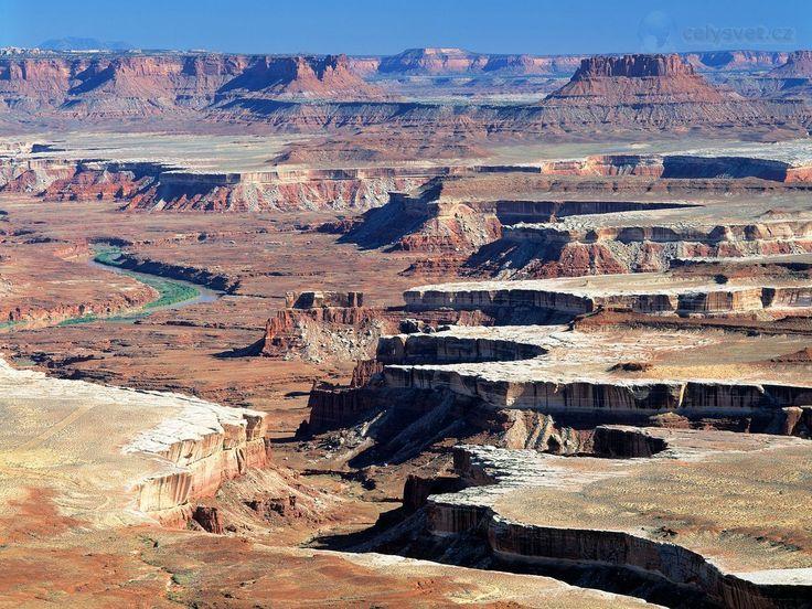 Canyonlands National Park, Utah | .Green River  overlook