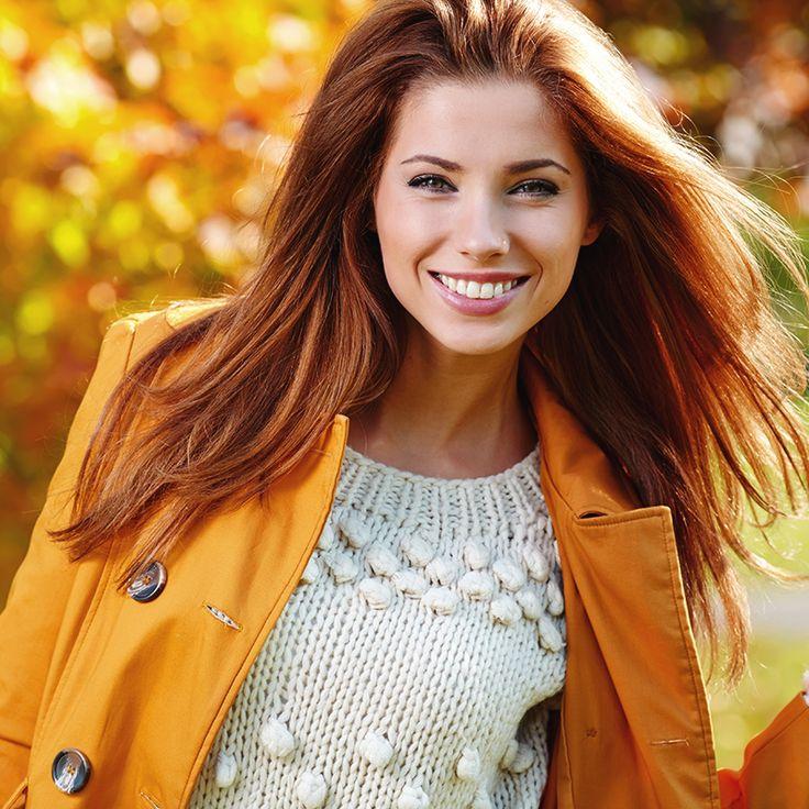 I capelli rossi? Un vero stile di vita, che celebra i colori sensuali dell'autunno.  #Testanera