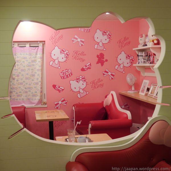 Hello Kitty Cafe in Sinchon, Seoul