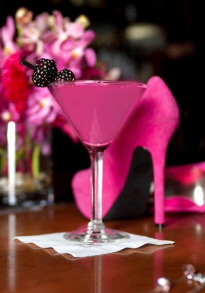 Favorites in Pink! Martini & a Heel @}-,-;--