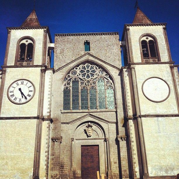 Lazio, San Martino al Cimino (Viterbo) -Abbazia cistercense - Italy