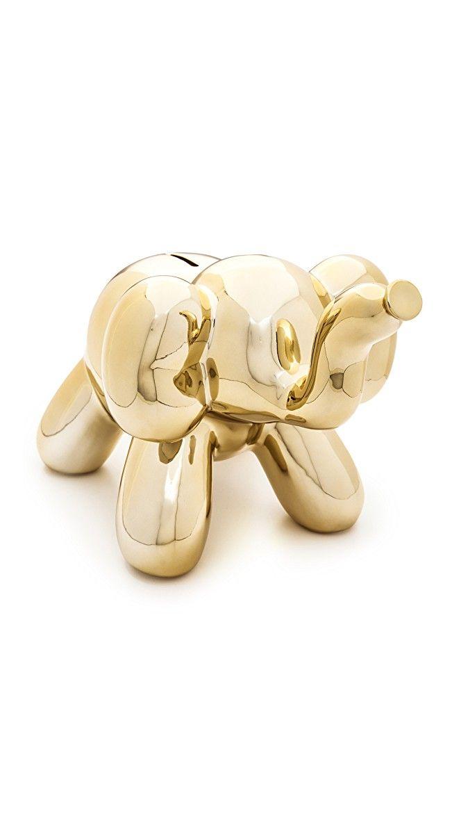 Gift Boutique Balloon Elephant Money Bank | SHOPBOP